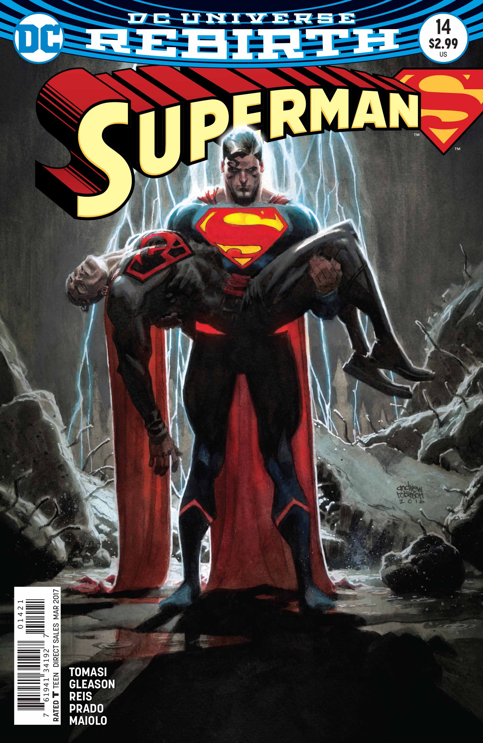 Nov160257 Superman 14 Var Ed Previews World