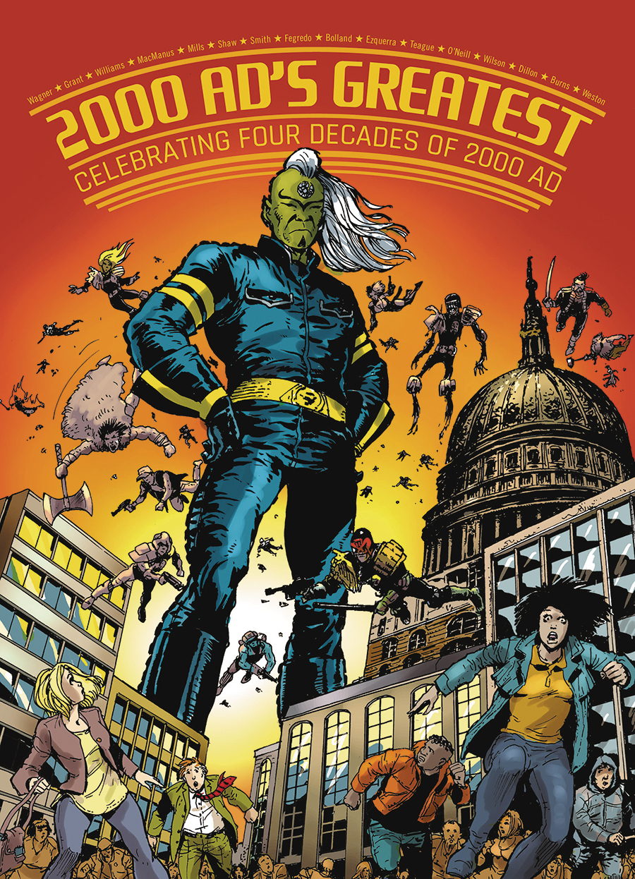 GALAXYS GREATEST FOUR DECADES OF 2000 AD TP