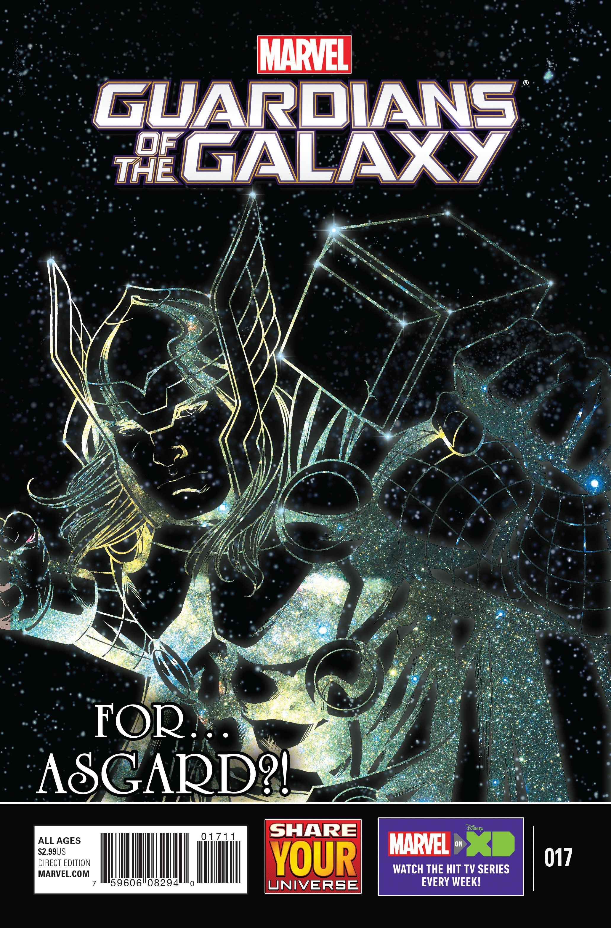 MARVEL UNIVERSE GUARDIANS OF GALAXY #17