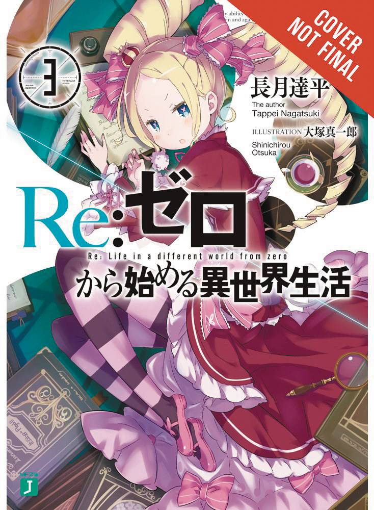 RE ZERO SLIAW LIGHT NOVEL SC VOL 03 STARTING LIFE IN ANOTHER