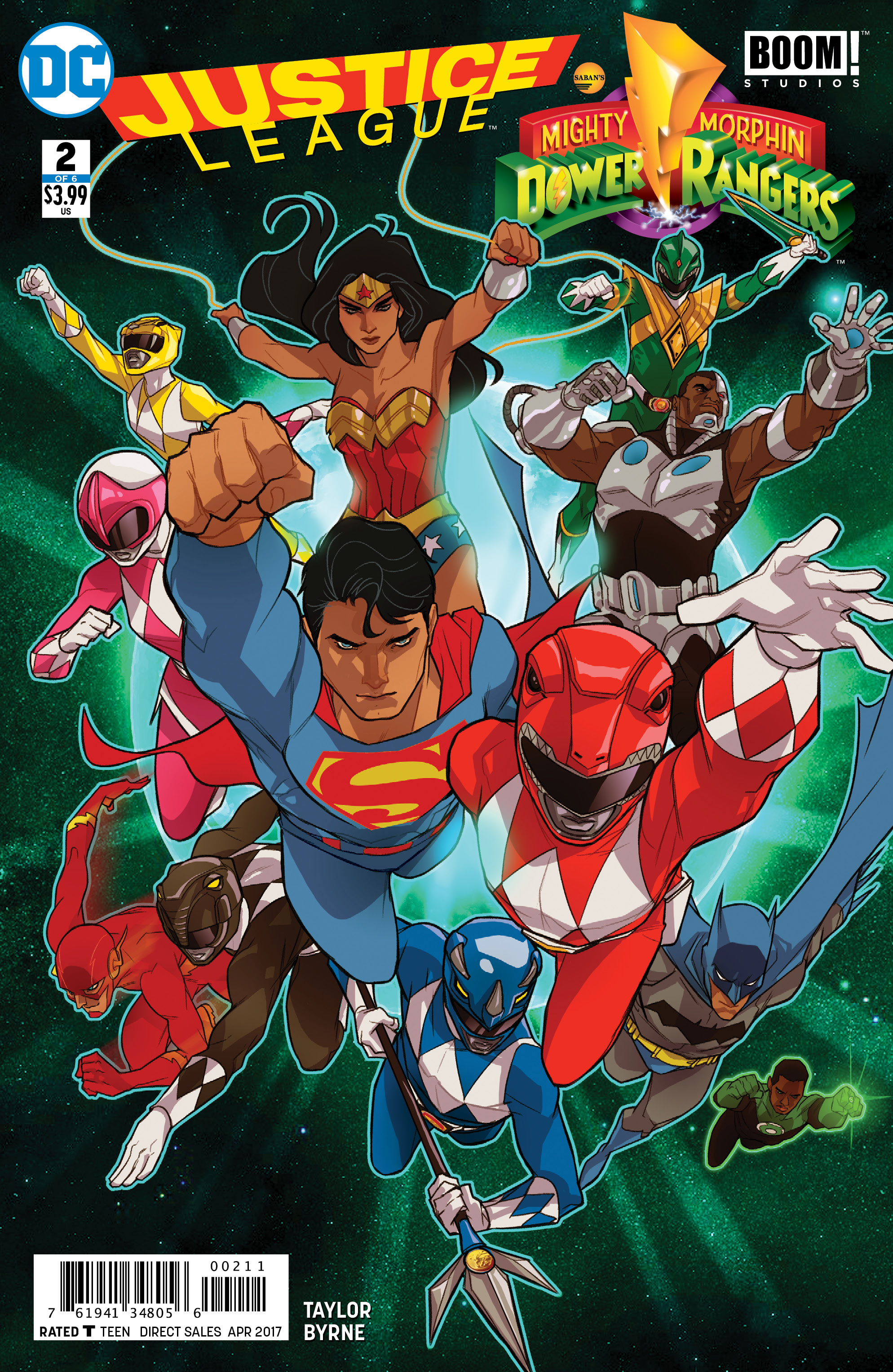 JUSTICE LEAGUE POWER RANGERS #2 (OF 6)