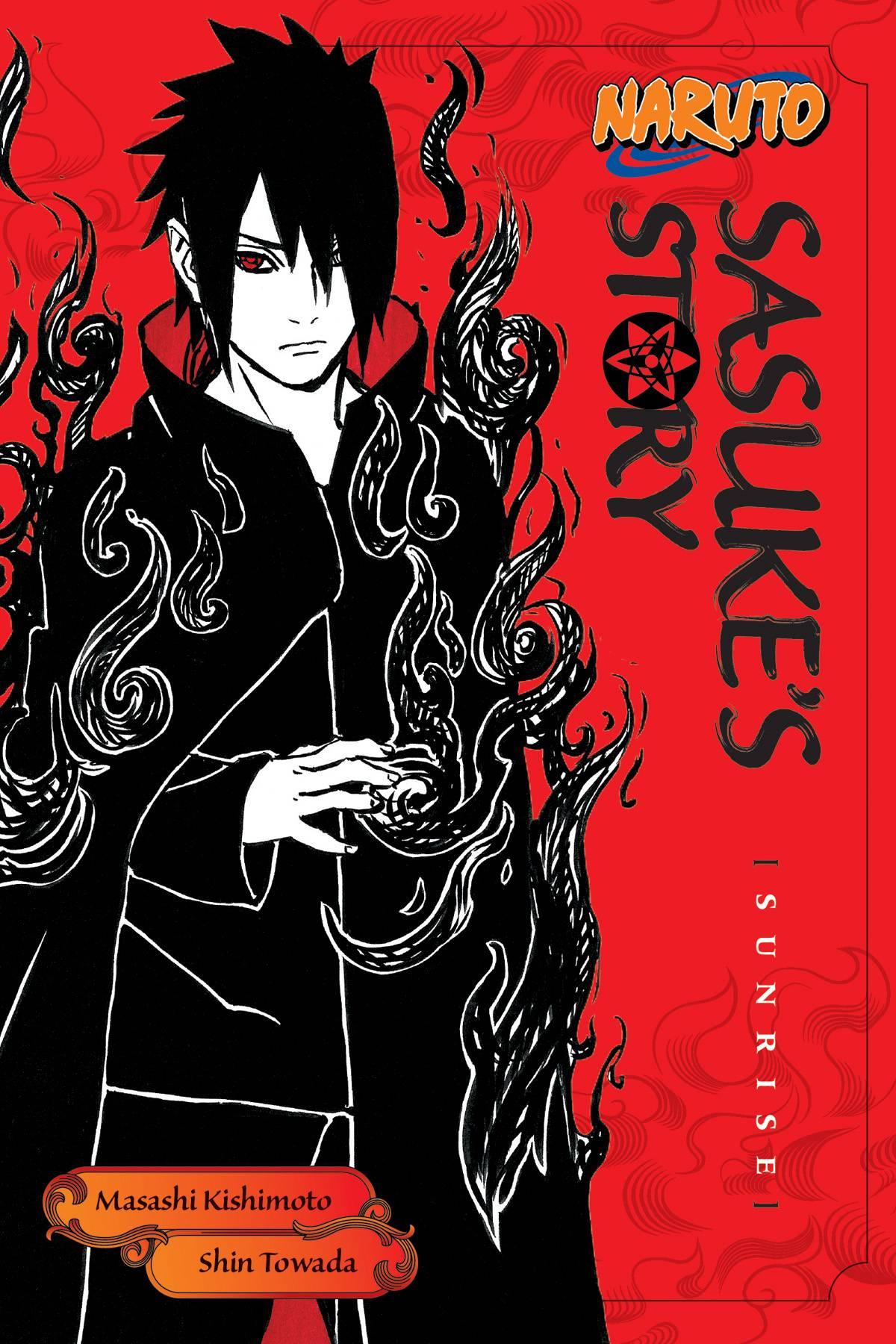 NARUTO NOVEL: SASUKE STORY VOL 03 Sunrise