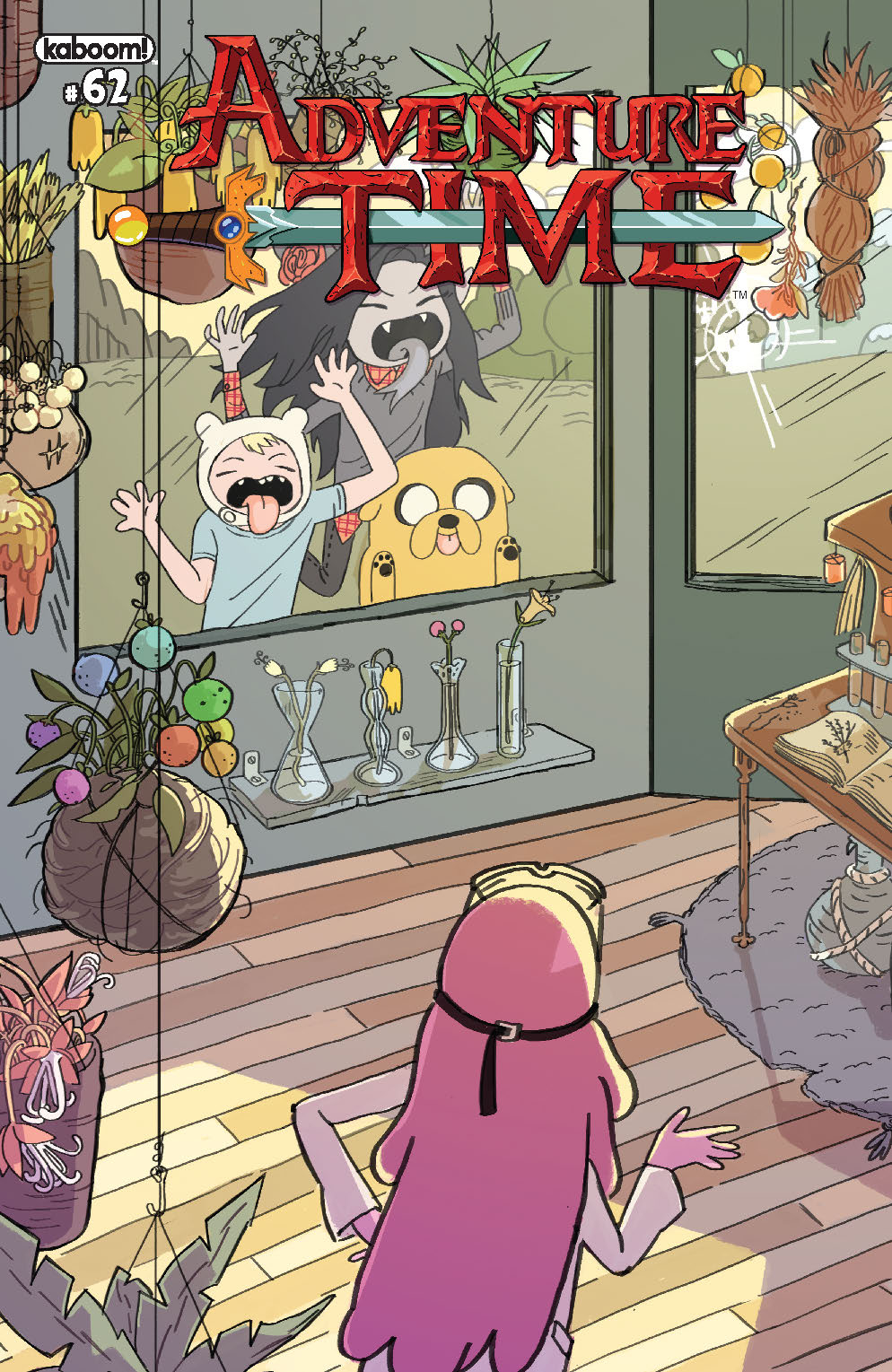 ADVENTURE TIME #62 SUBSCRIPTION WOLTJEN CVR