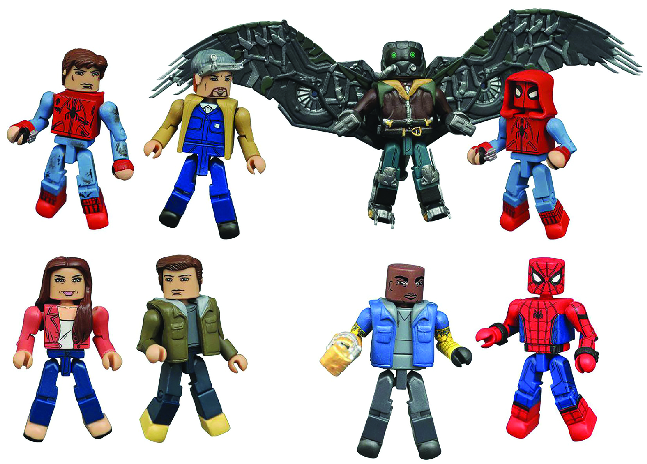 MARVEL MINIMATES SERIES 73 ASST SPIDEY HOMECOMING