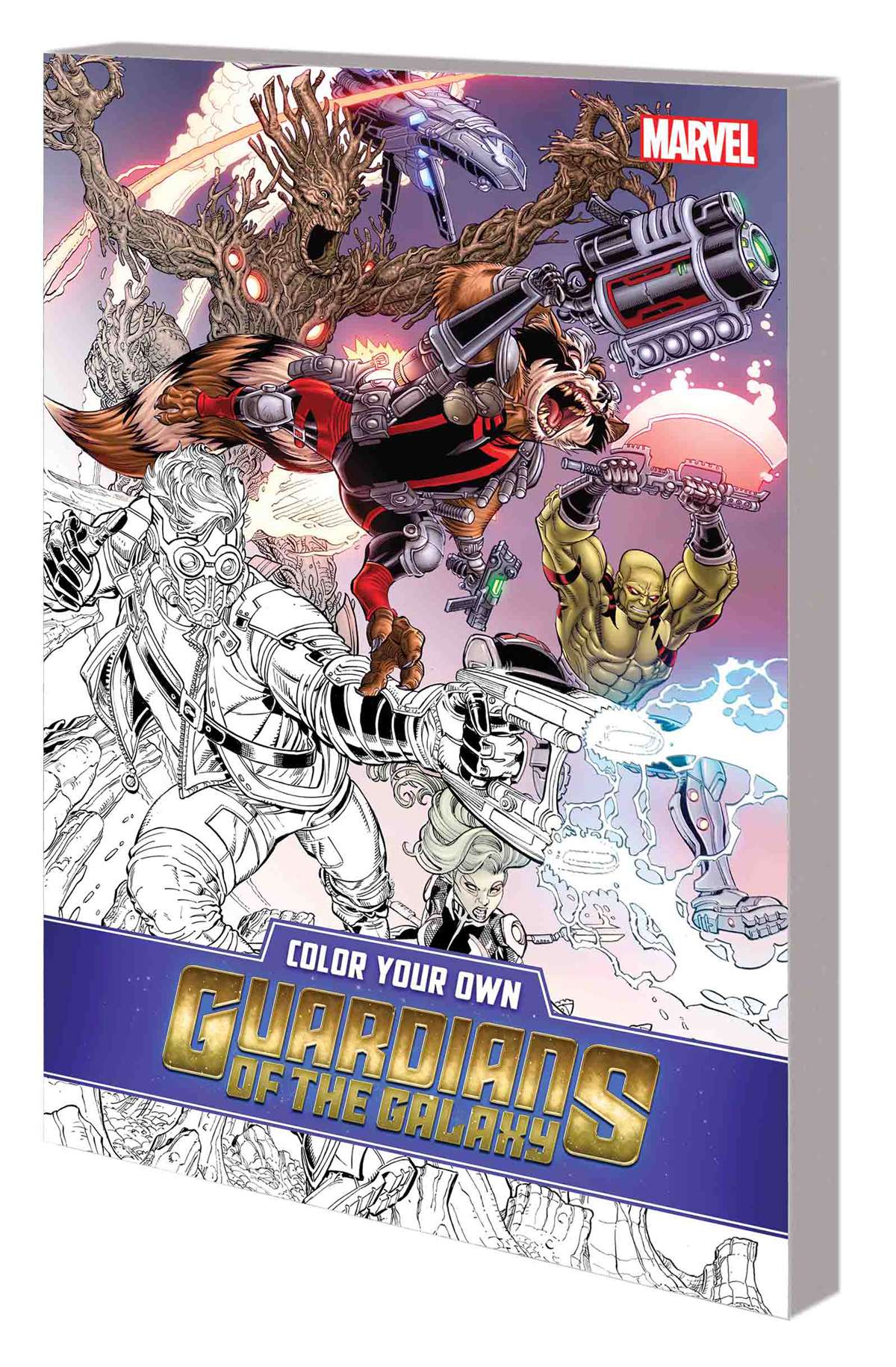 COLOR YOUR OWN GUARDIANS OF GALAXY TP