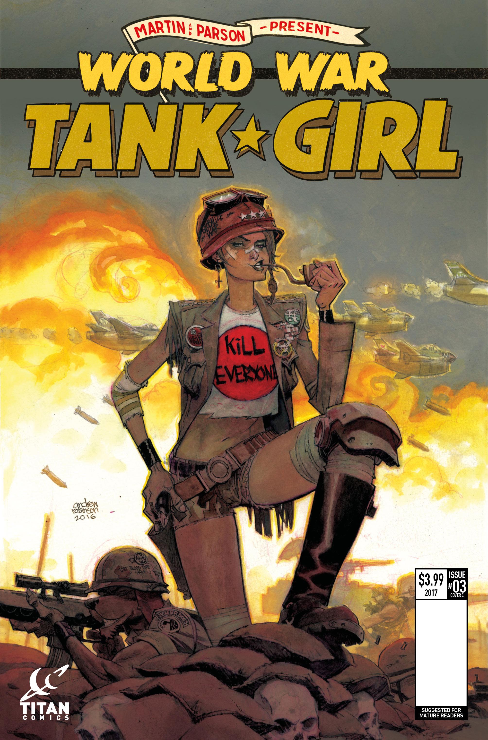 Tank Girl 3 Tank