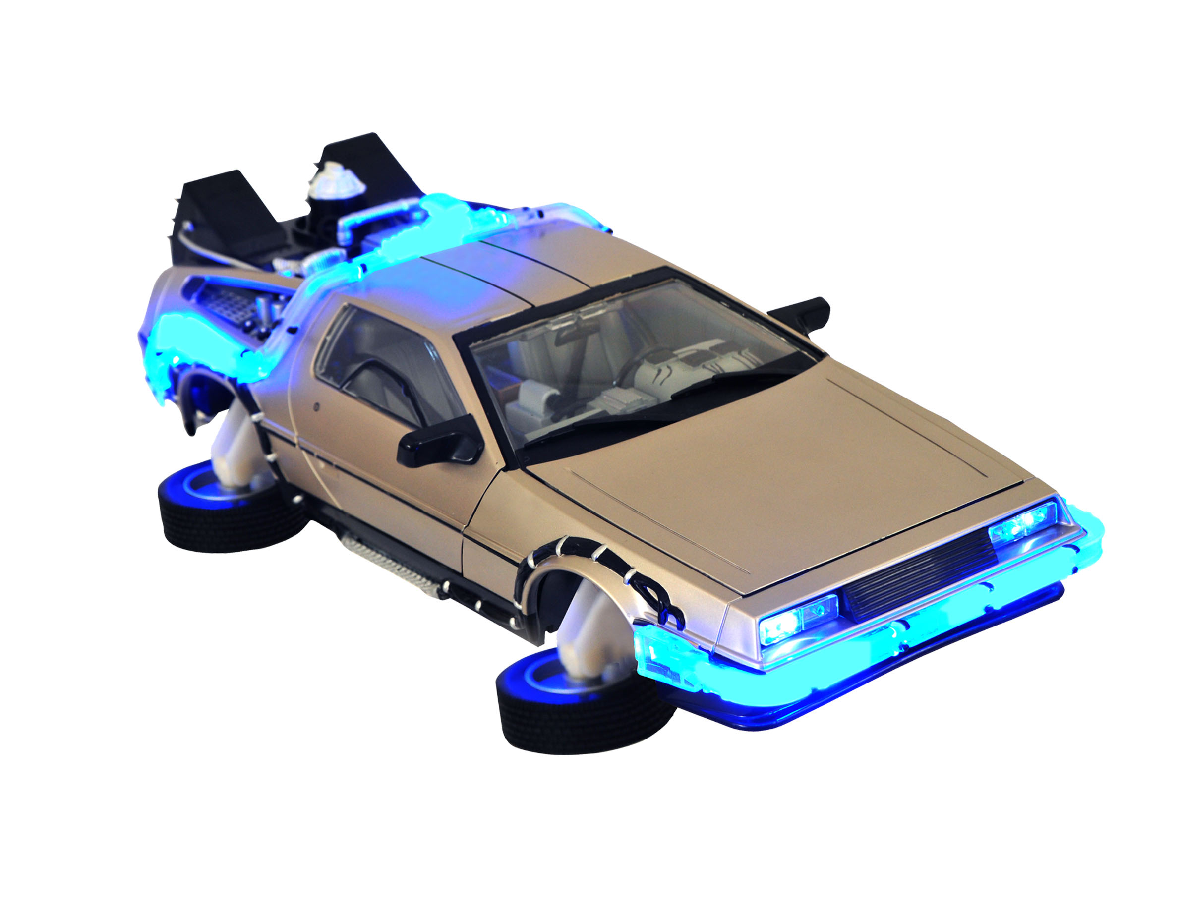 BTTF 2 HOVER TIME MACHINE ELECTRONIC VEHICLE