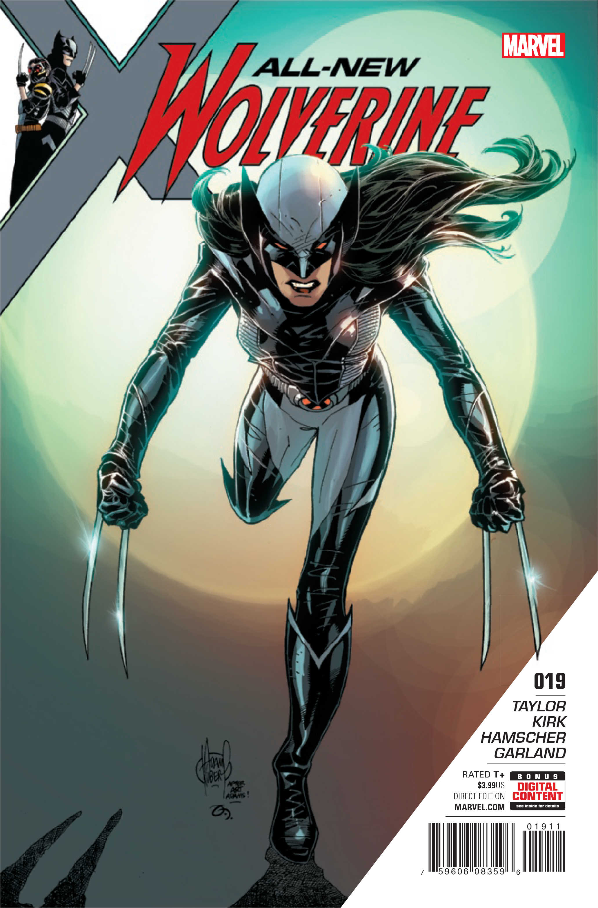 ALL NEW WOLVERINE #19