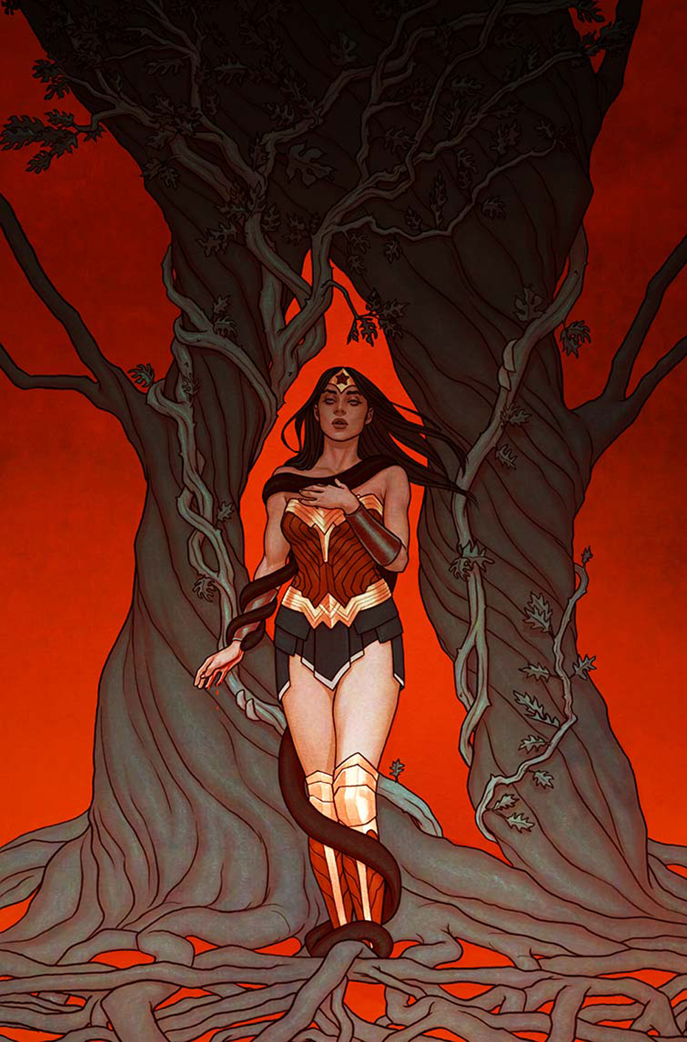WONDER WOMAN #21 VAR ED