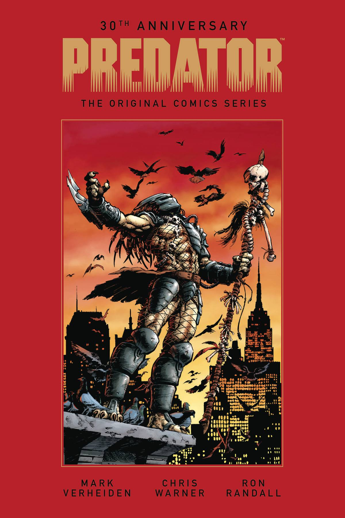 PREDATOR ORIGINAL COMICS SERIES 1989-1996 HC