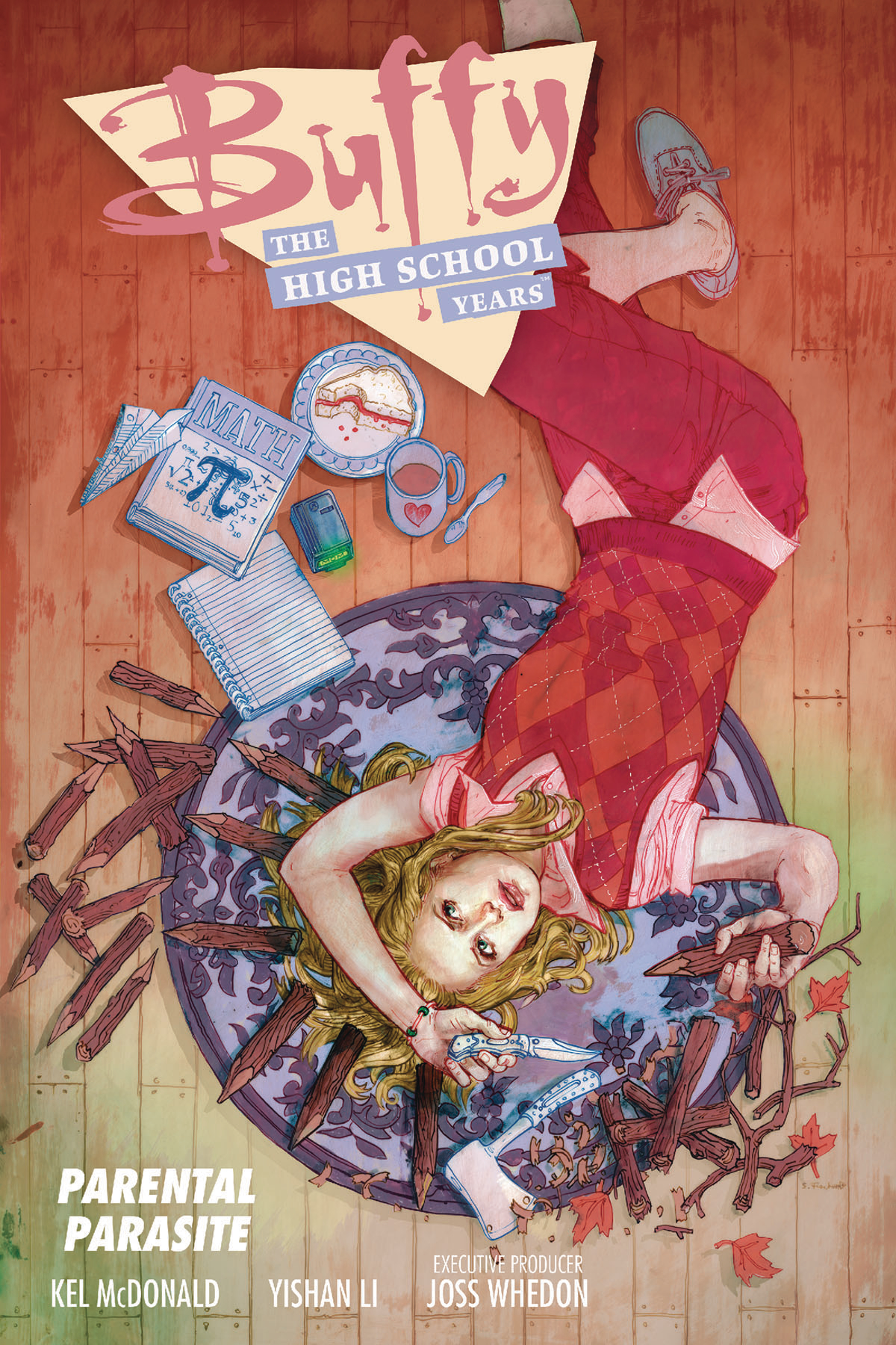 BUFFY HIGH SCHOOL YEARS PARENTAL PARASITE TP
