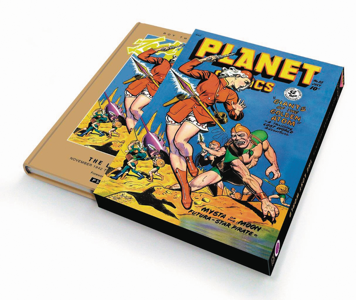 ROY THOMAS PRESENTS LOST WORLD SLIPCASE ED HC