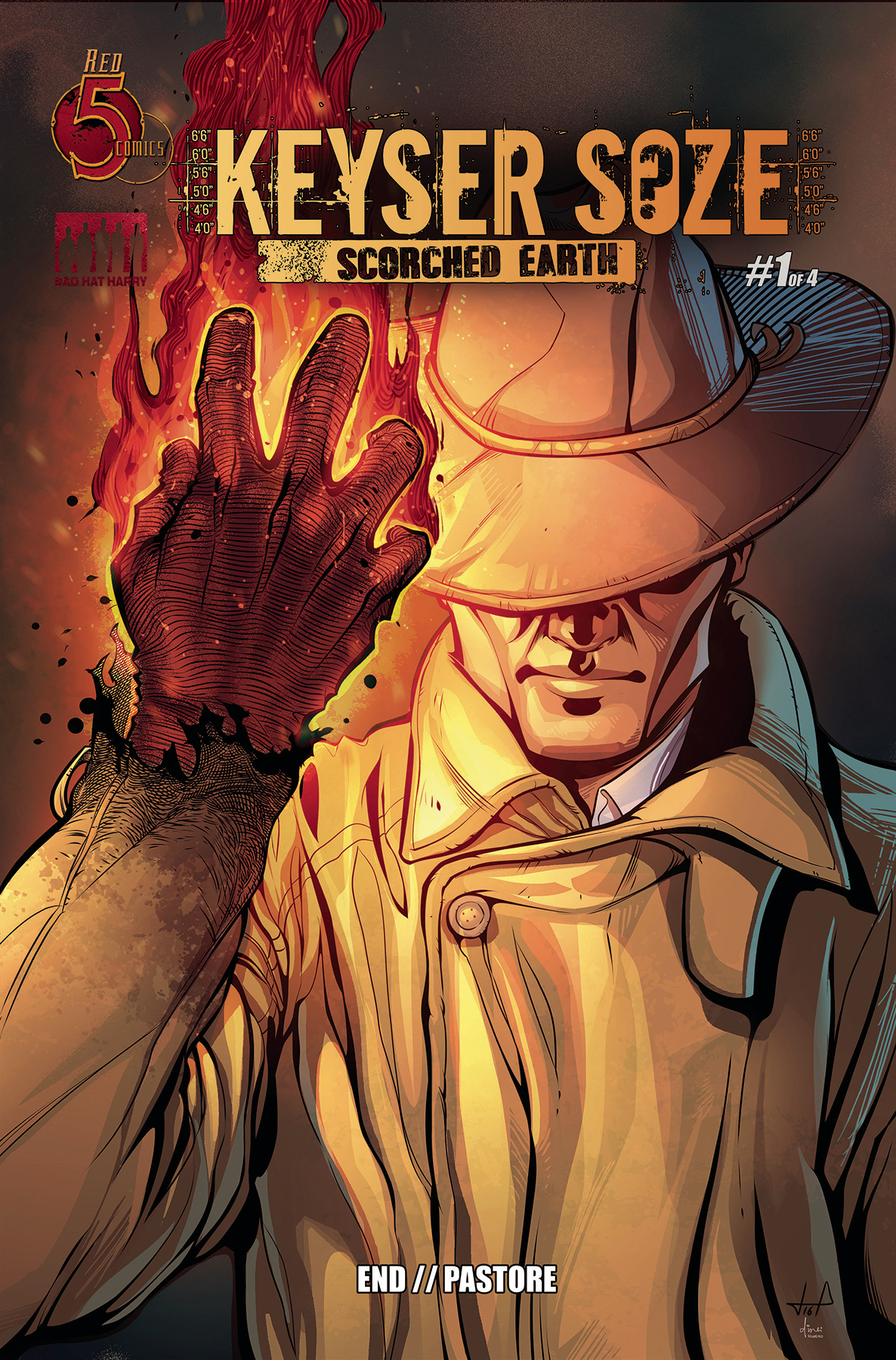 KEYSER SOZE SCORCHED EARTH #1 (OF 5)