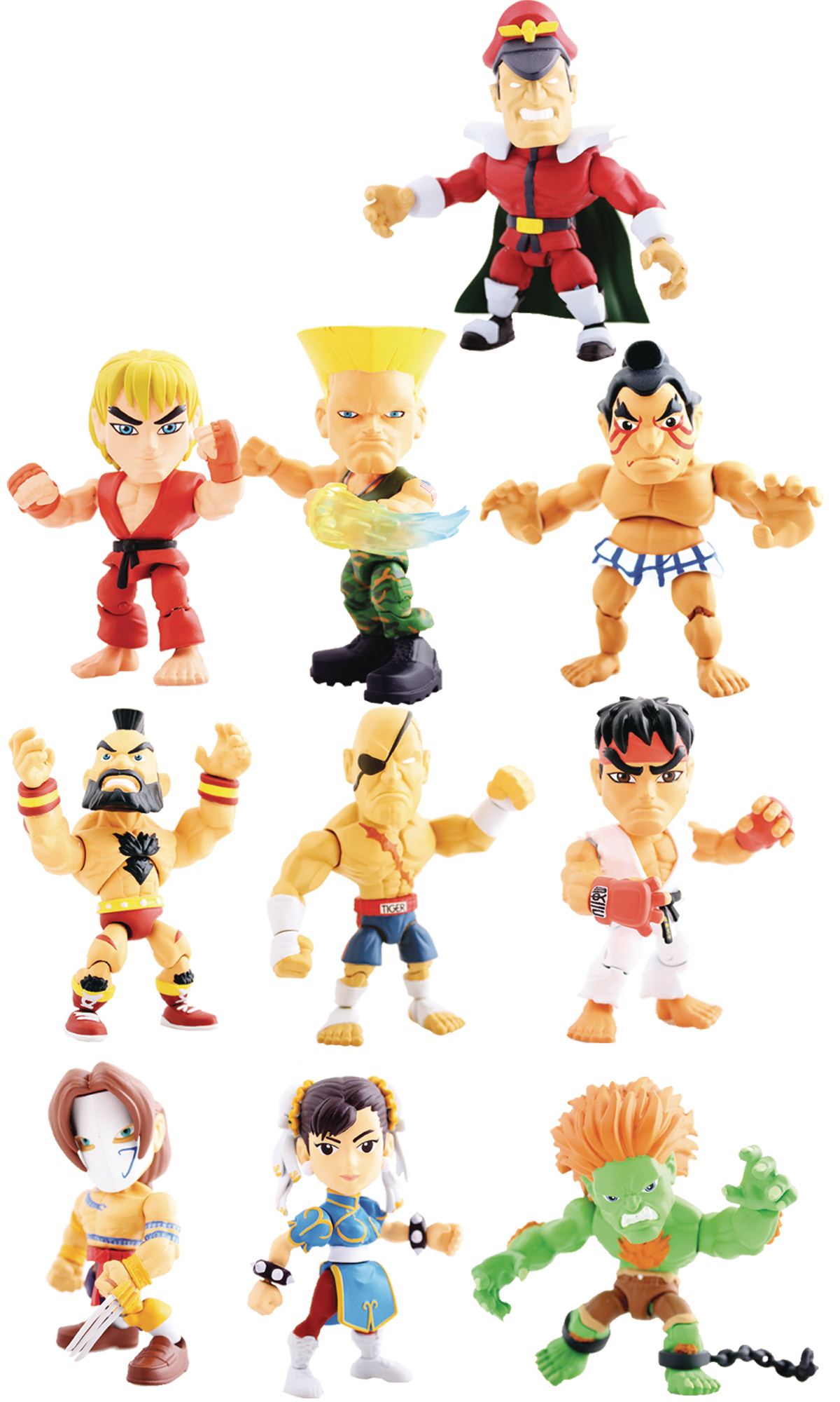 TLS X STREET FIGHTER MINI FIG 16PC BMB DS WV1