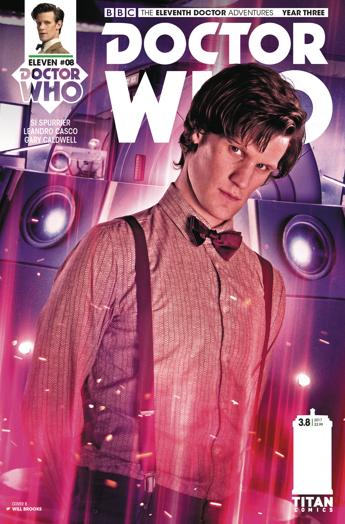 DOCTOR WHO 11TH YEAR THREE #8 CVR B PHOTO