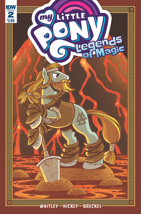 MY LITTLE PONY LEGENDS OF MAGIC #2