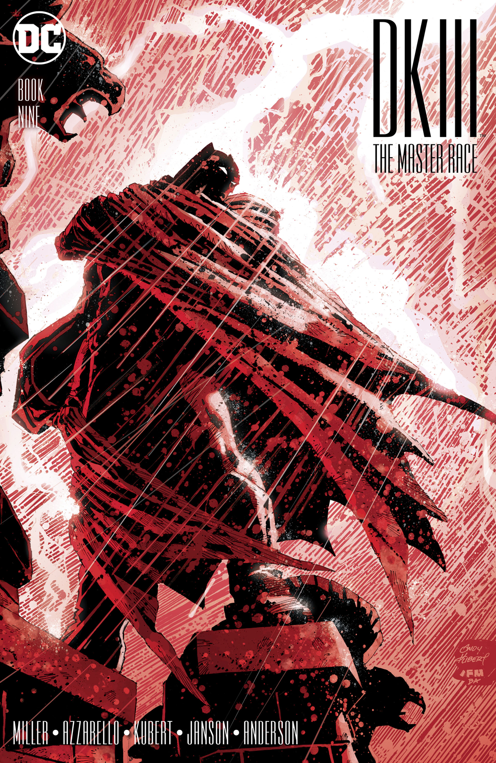 DARK KNIGHT III MASTER RACE #9 (OF 9)