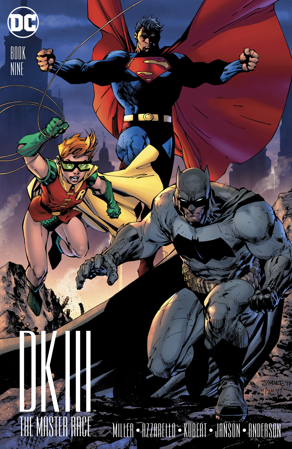 DARK KNIGHT III MASTER RACE #9 (OF 9) LEE VAR ED