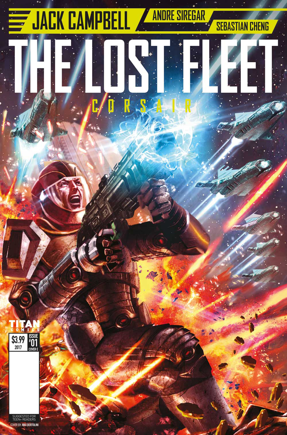LOST FLEET CORSAIR #1 (OF 4) CVR E BERTOLINI