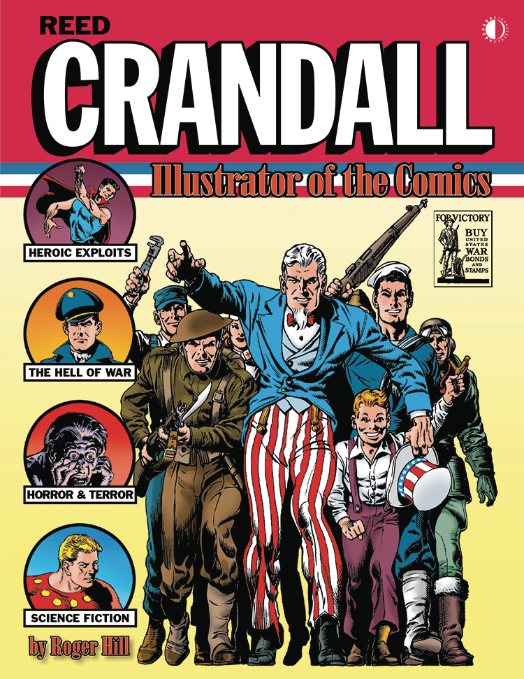 REED CRANDALL ILLUSTRATOR OF COMICS HC