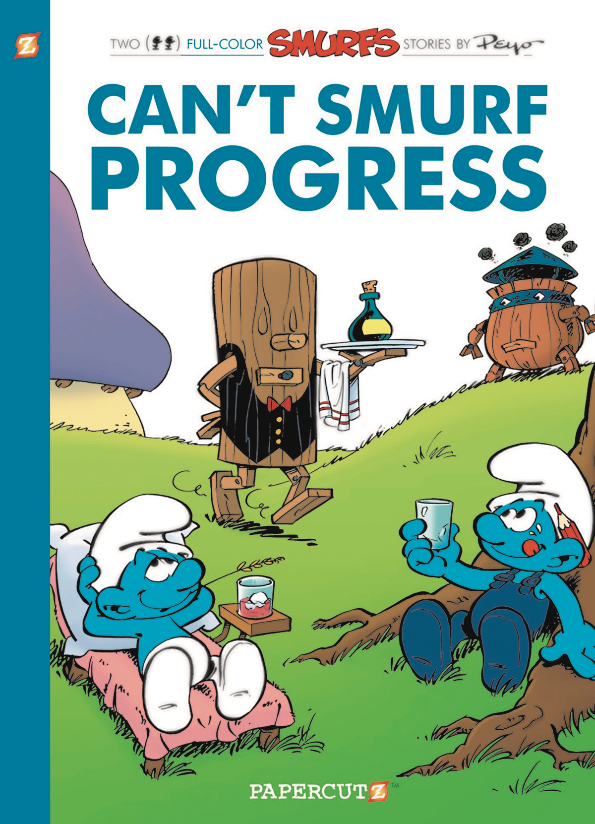 SMURFS GN VOL 23 CANT SMURF PROGRESS