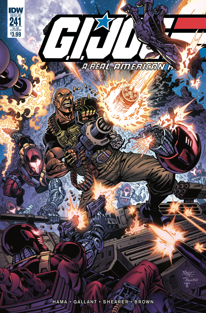 GI JOE A REAL AMERICAN HERO #241 SUBSCRIPTION VAR