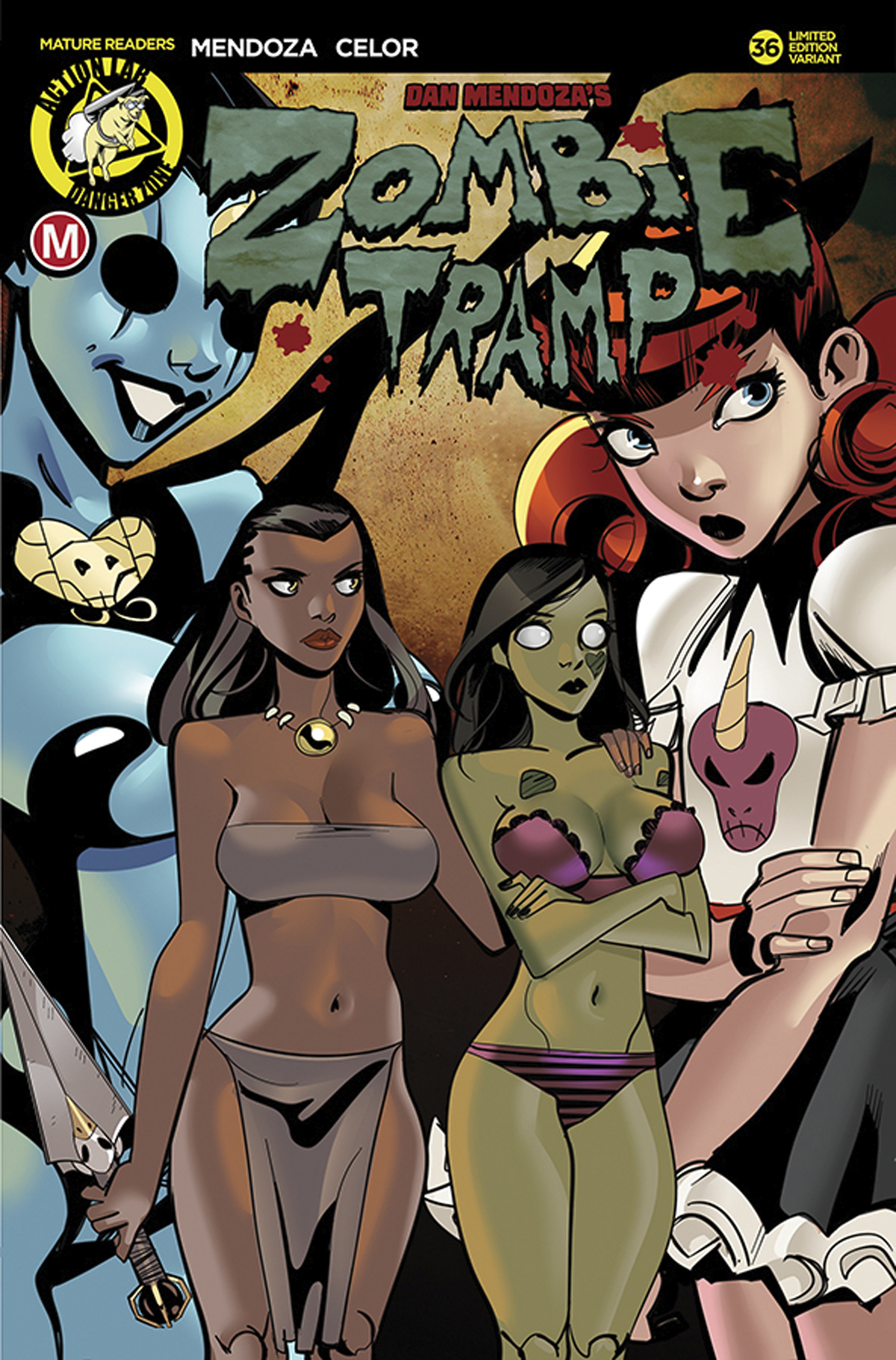 ZOMBIE TRAMP ONGOING #36 CVR A CELOR (MR)