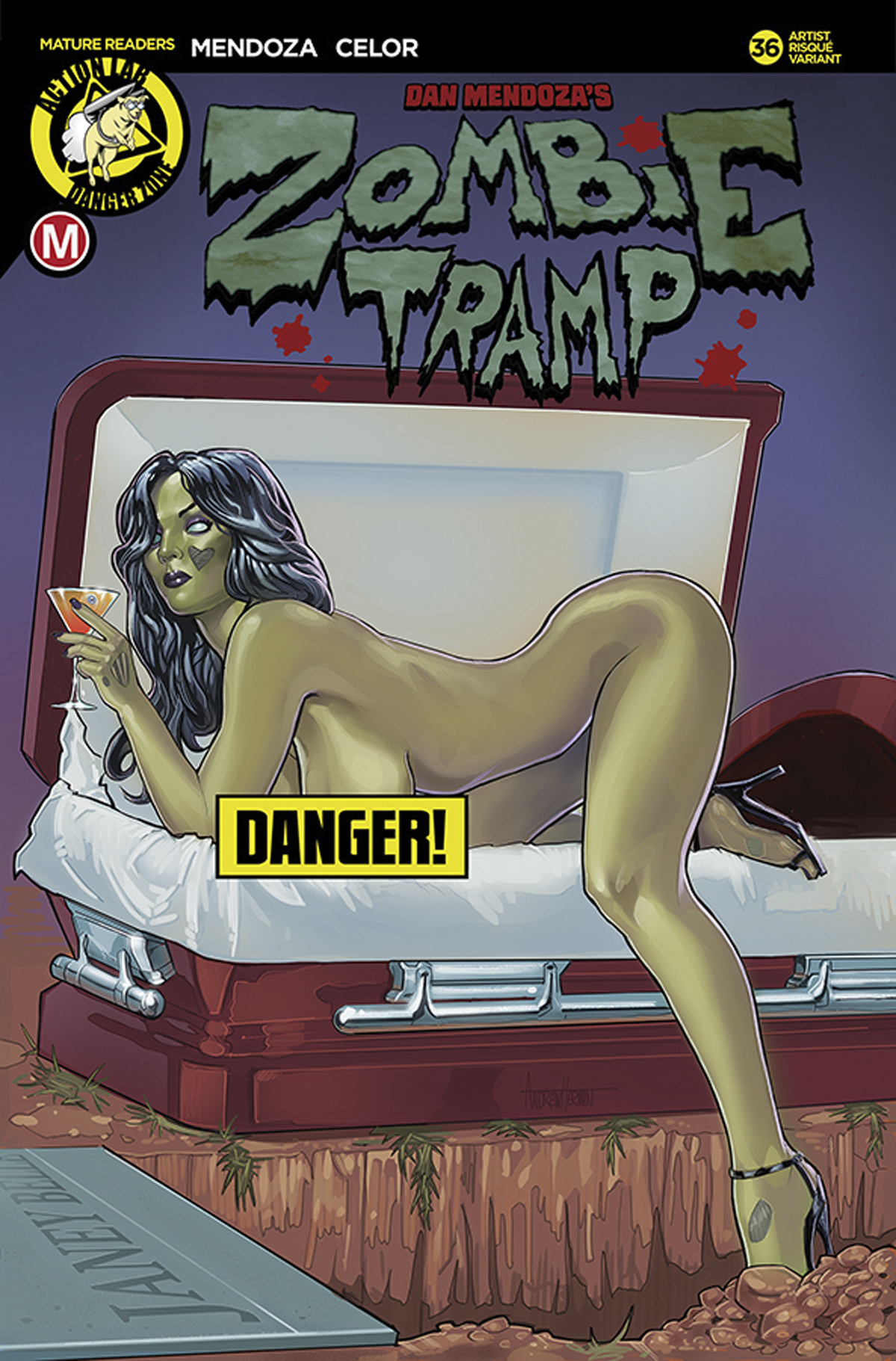 ZOMBIE TRAMP ONGOING #36 CVR F HERMAN RISQUE (MR)
