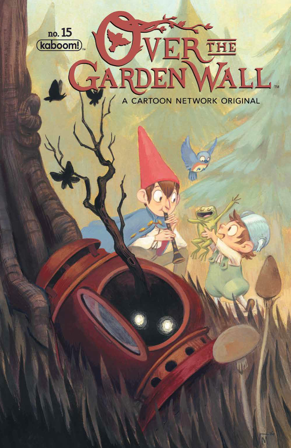 OVER GARDEN WALL ONGOING #15 SUBSCRIPTION MADERNA VAR