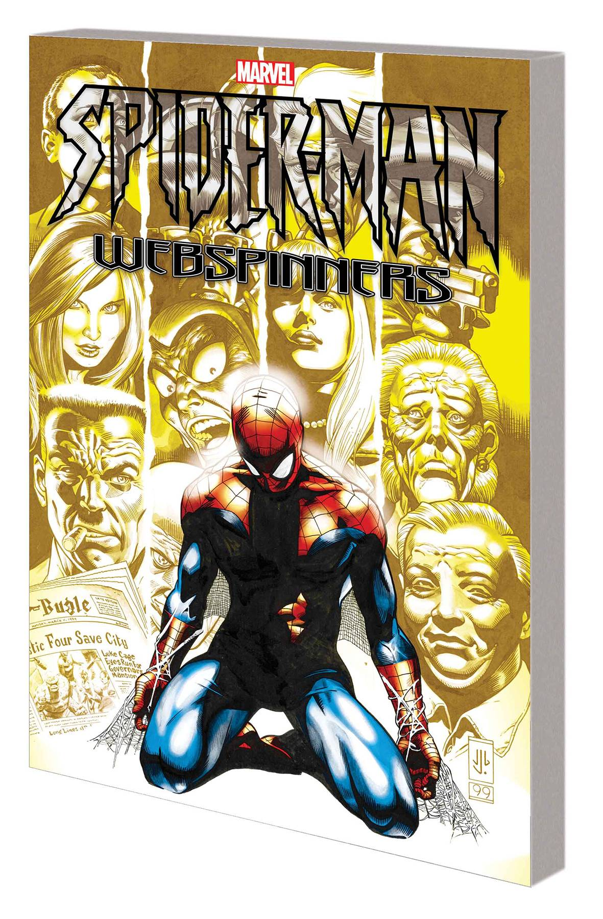 SPIDER-MAN WEBSPINNERS COMP COLL TP