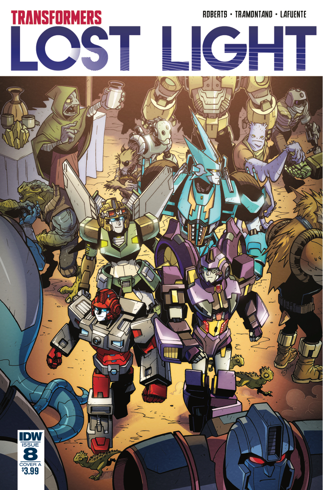 TRANSFORMERS LOST LIGHT #8 CVR A LAWRENCE