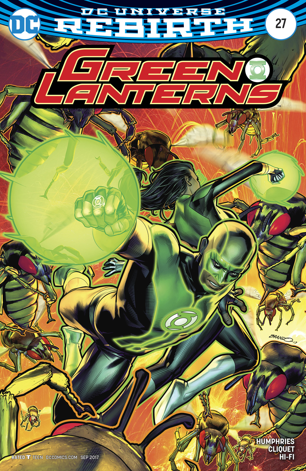 GREEN LANTERNS #27 VAR ED