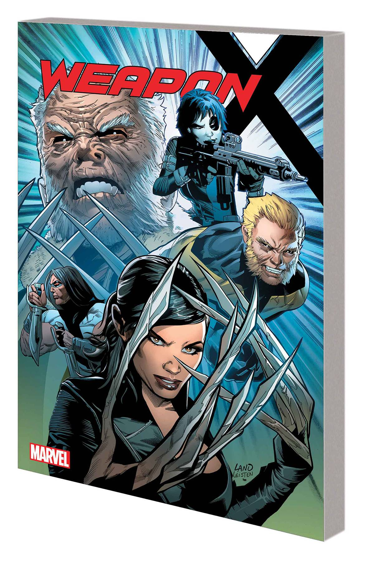 WEAPON X TP VOL 01 WEAPONS OF MUTANT DESTRUCTION PRELUDE