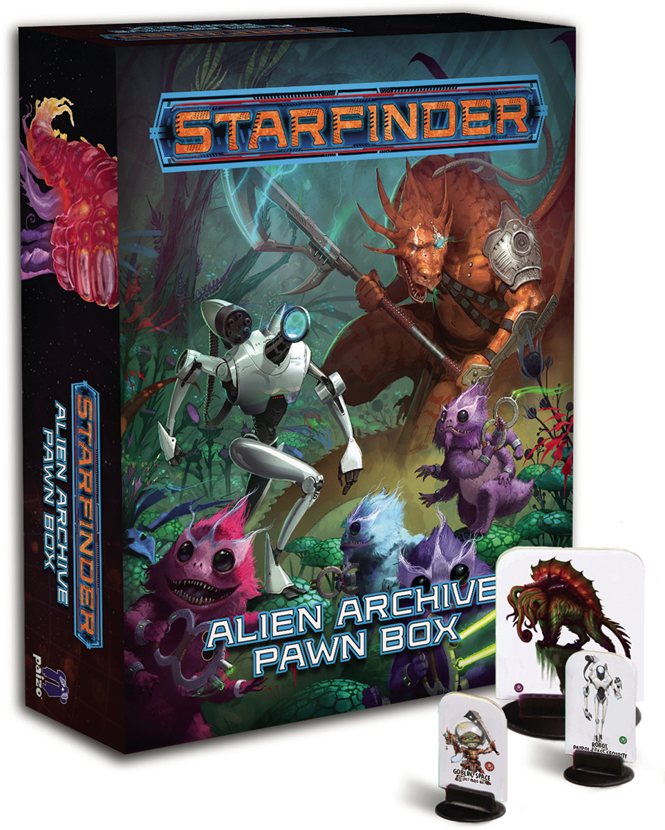 STARFINDER PAWNS ALIEN ARCHIVE 1 PAWN BOX