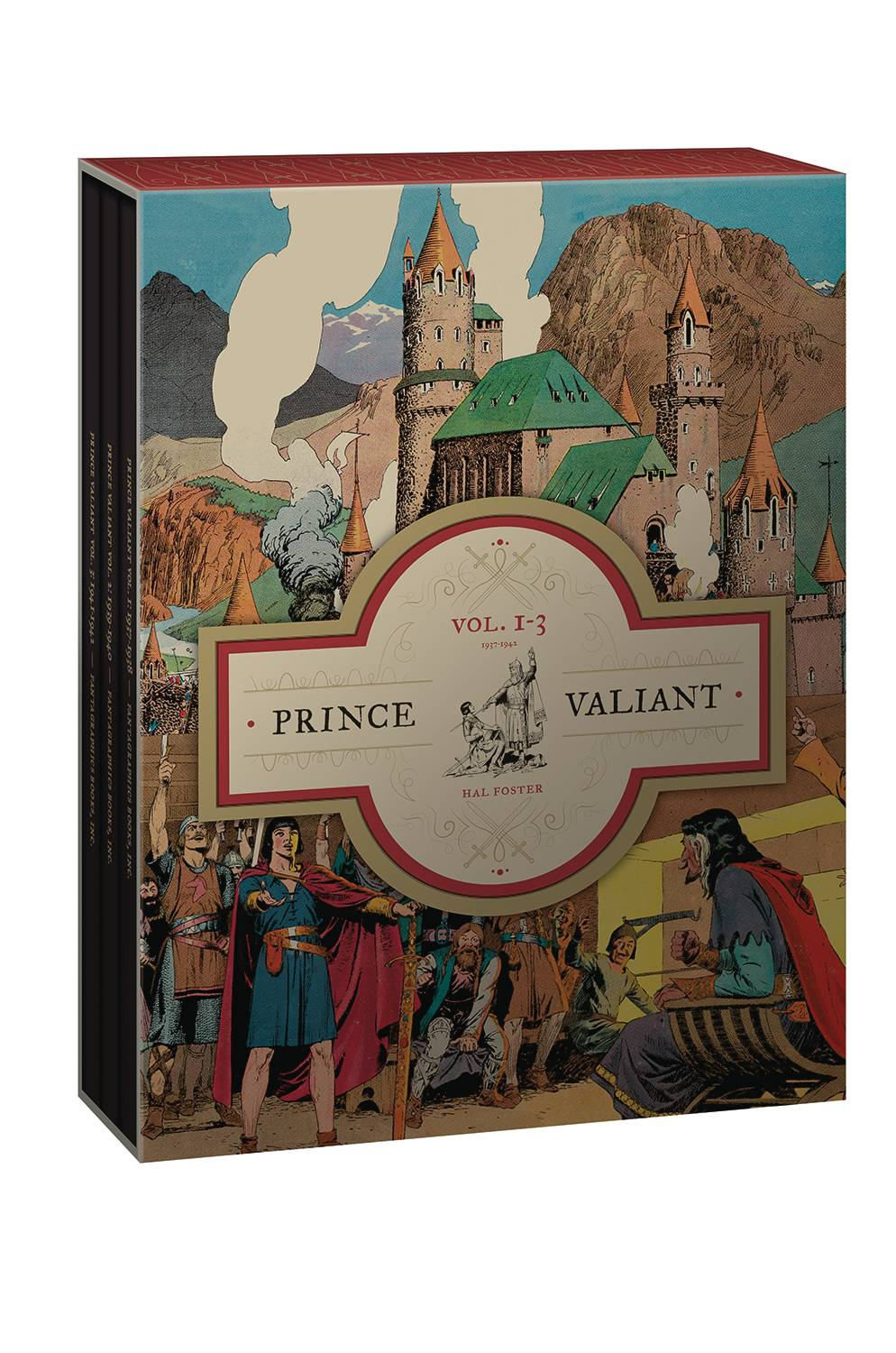 PRINCE VALIANT HC BOX SET VOL 01-03 1937-1942