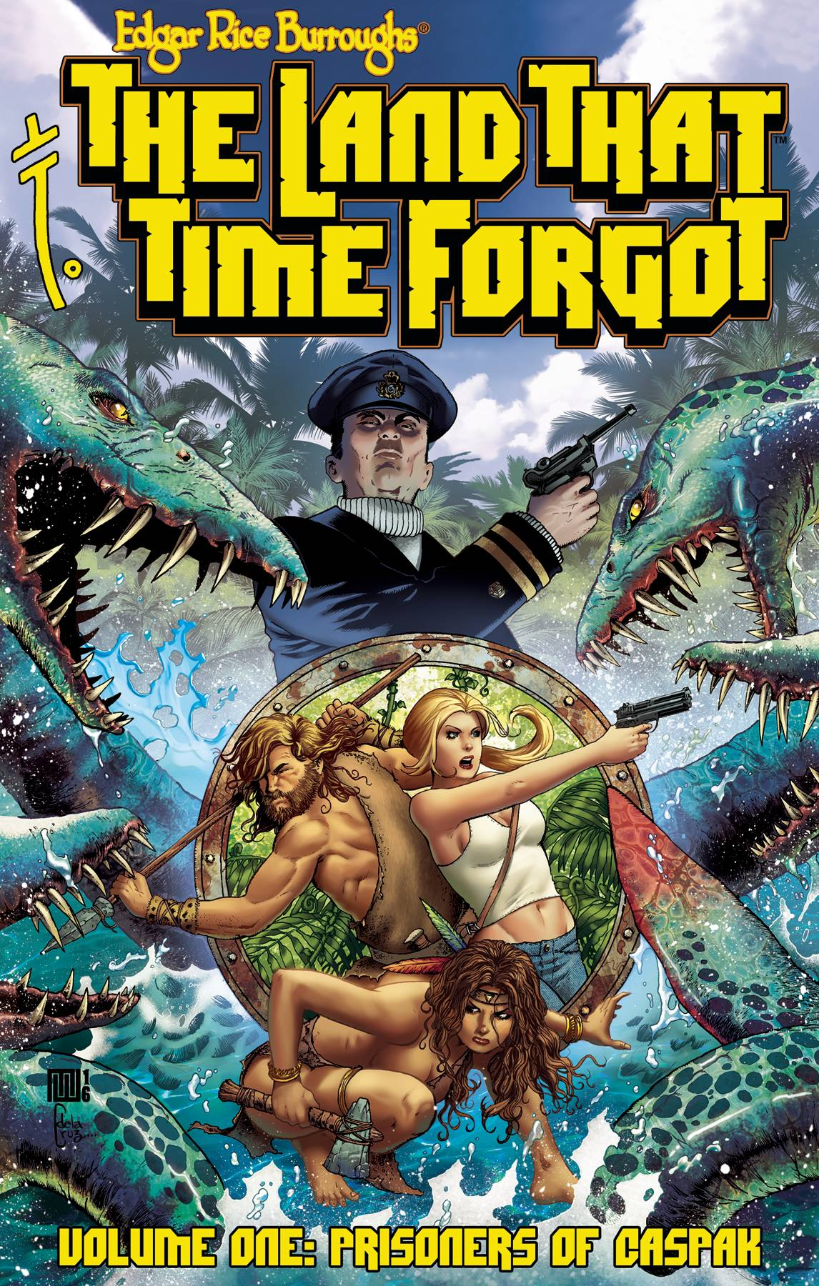ERB THE LAND THAT TIME FORGOT TP VOL 01
