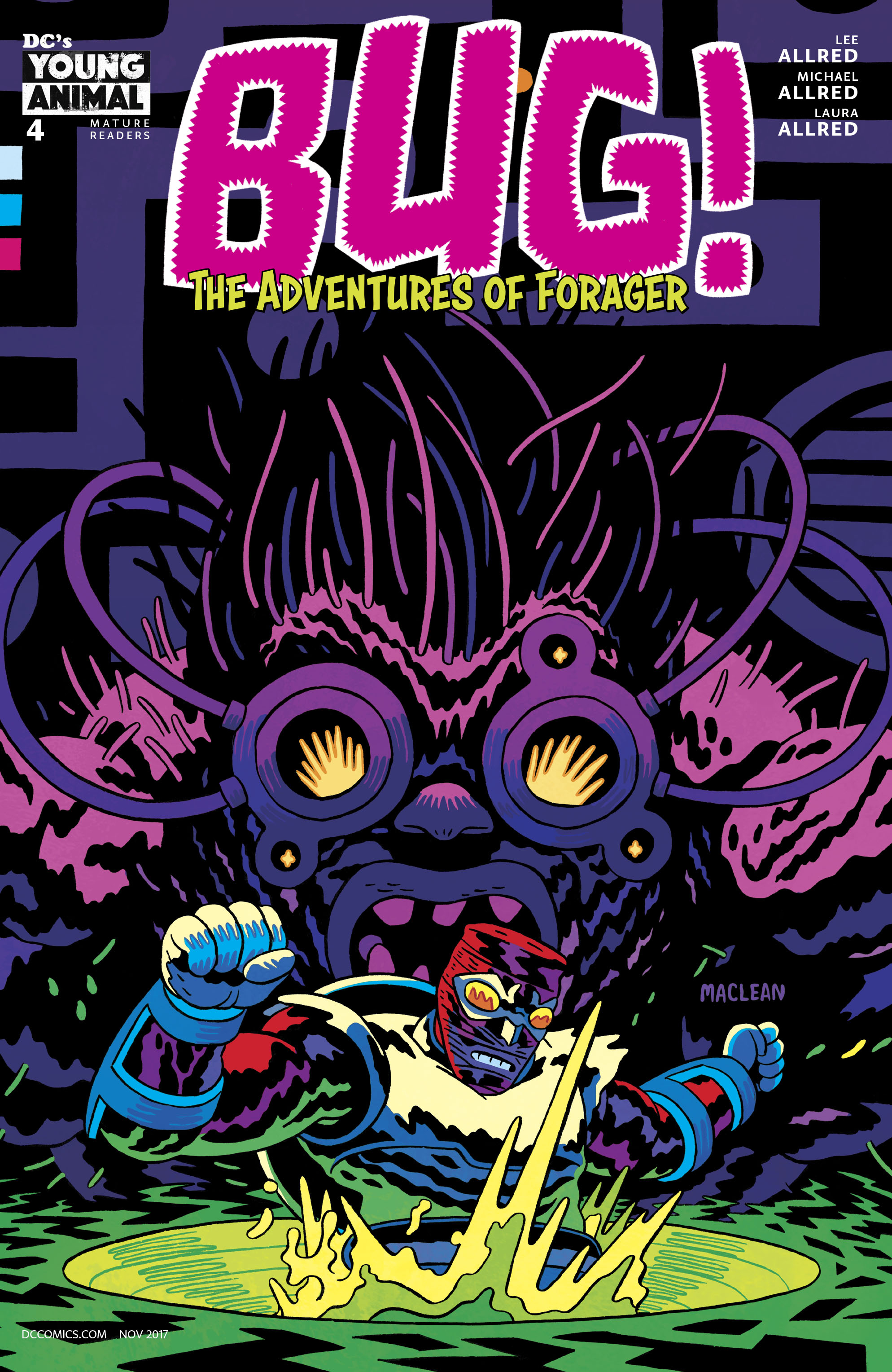 BUG THE ADVENTURES OF FORAGER #4 (OF 6) VAR ED (MR)