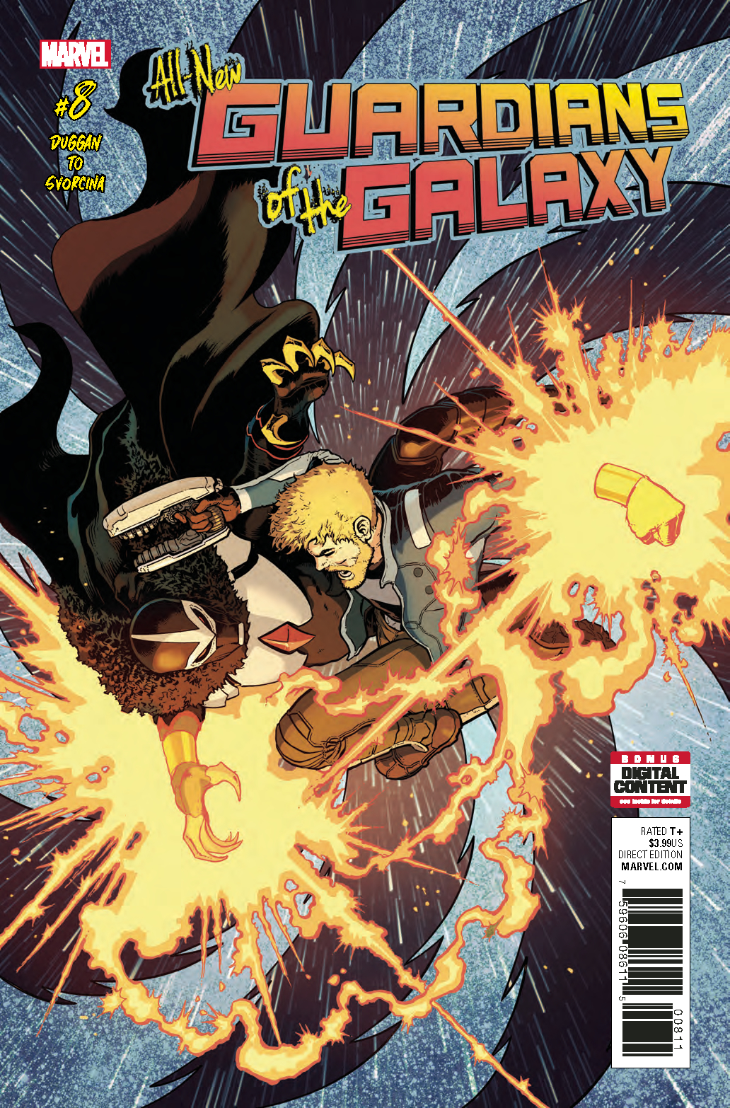 ALL NEW GUARDIANS OF GALAXY #8