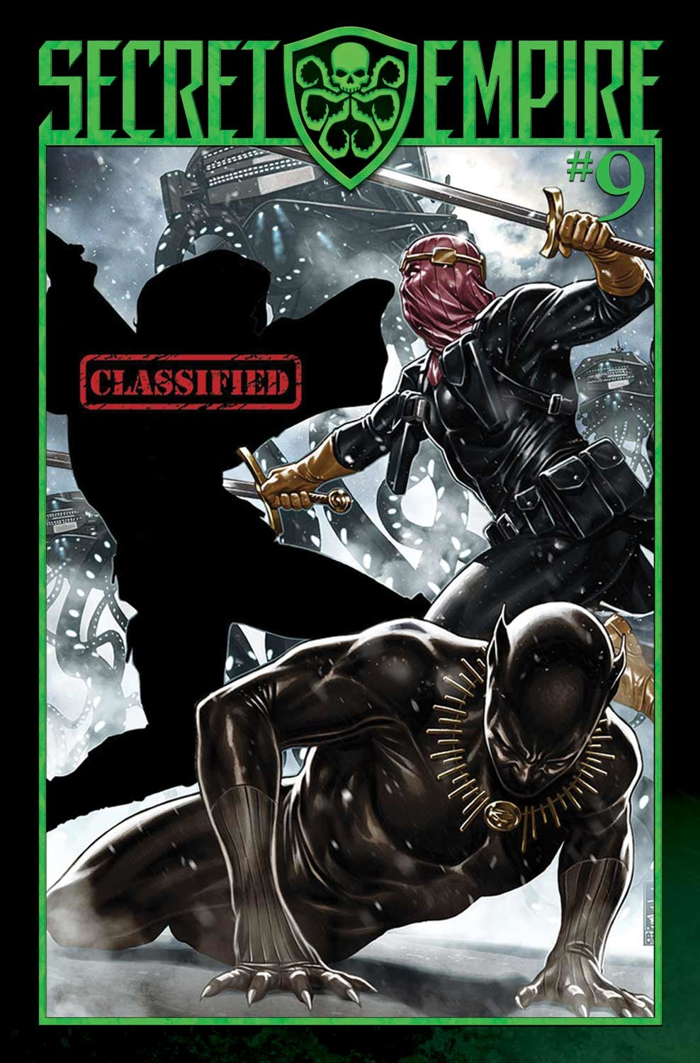 SECRET EMPIRE #9 (OF 10) SE