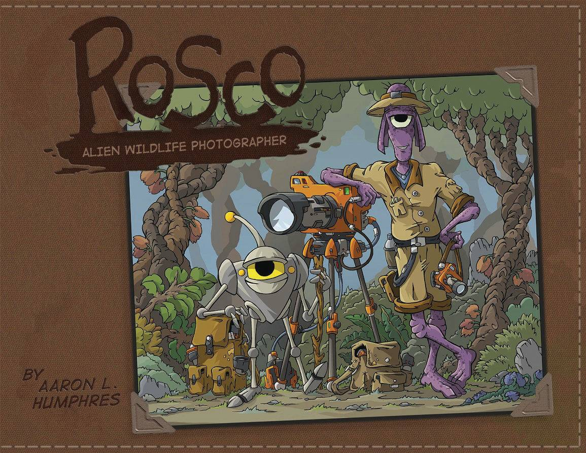 ROSCO ALIEN PHOTOGRAPHER HC