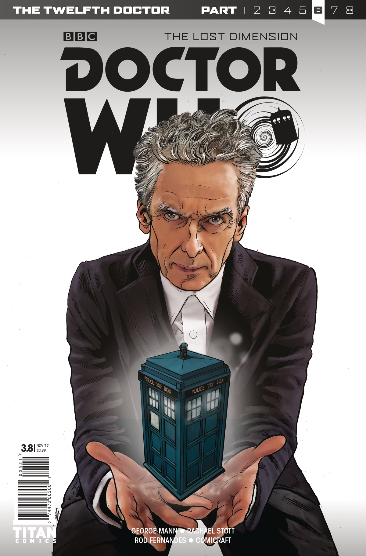 DOCTOR WHO 12TH YEAR THREE #8 CVR A KLEBS JR