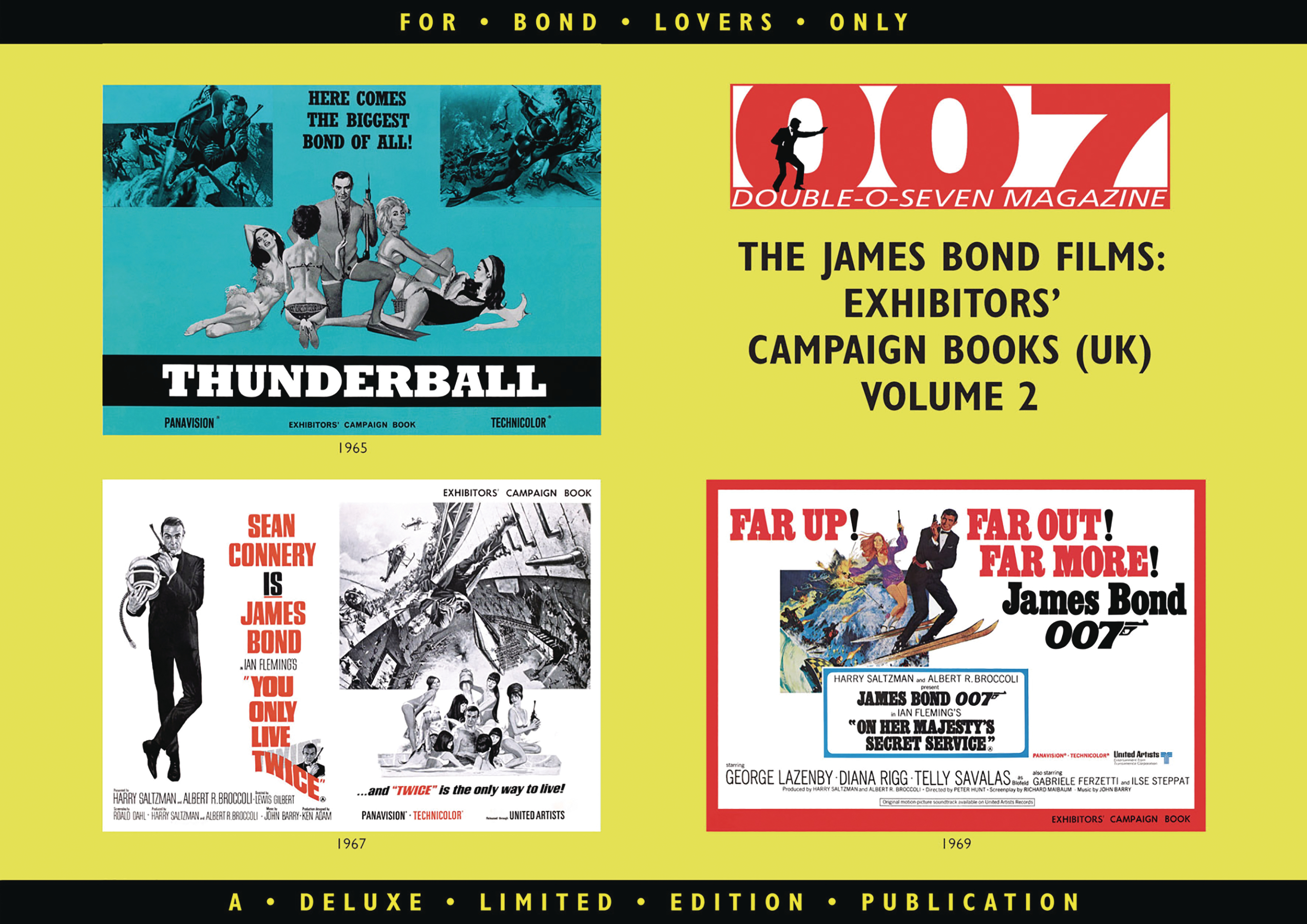 007 MAGAZINE EXHIBITORS CAMPAIGN BOOKS SC VOL 02