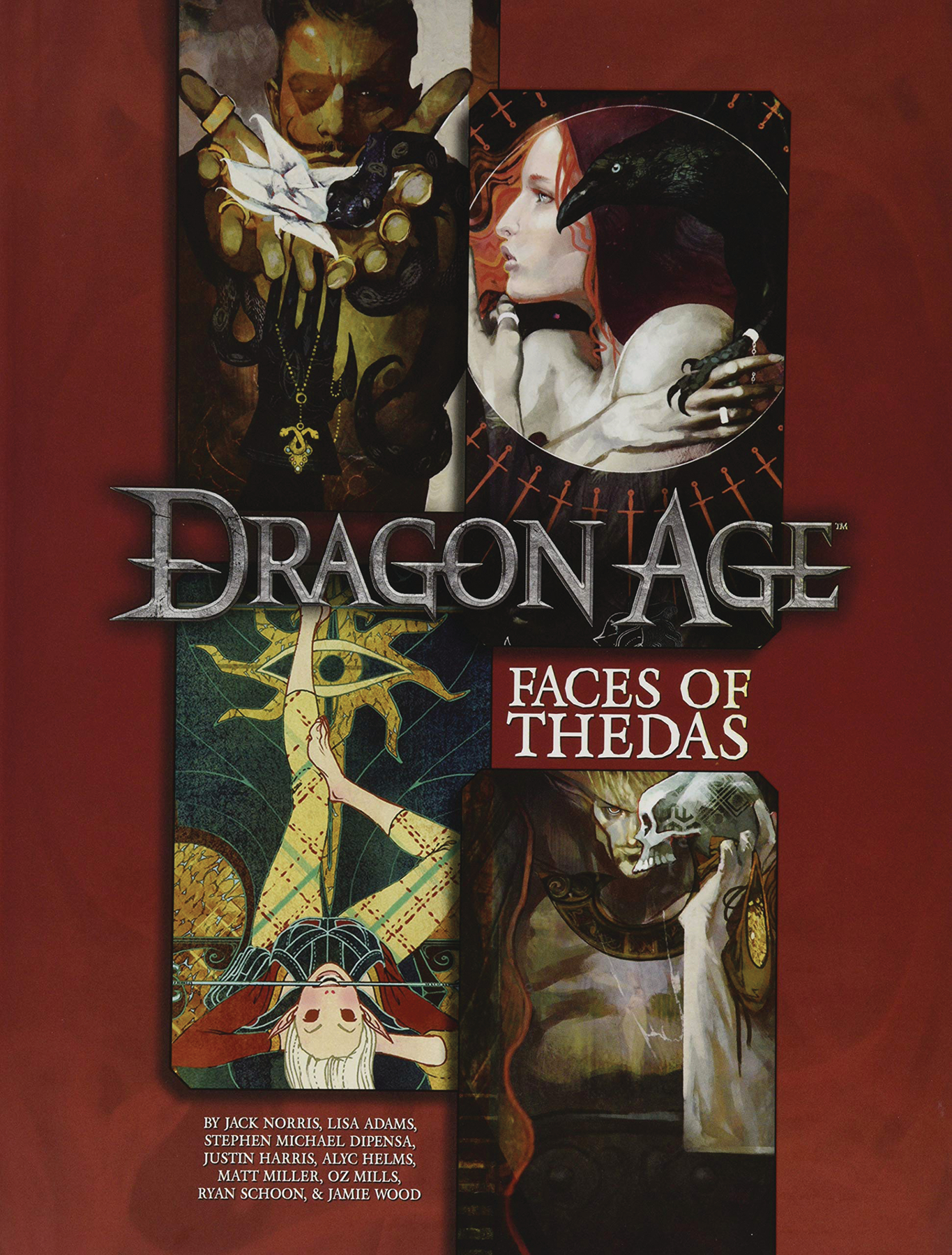 DRAGON AGE RPG FACES OF THEDAS SOURCEBOOK (RES)
