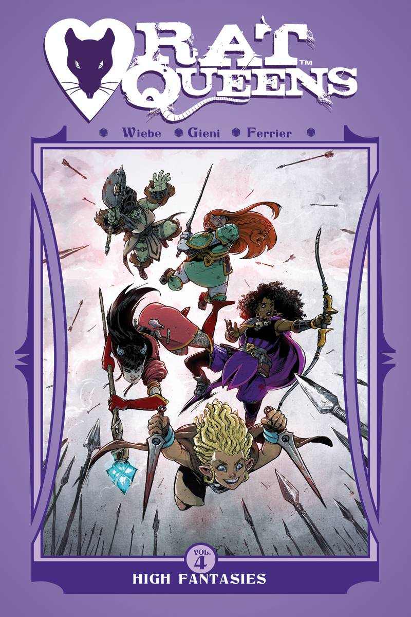 RAT QUEENS TP VOL 04 HIGH FANTASIES (AUG170704) (MR)
