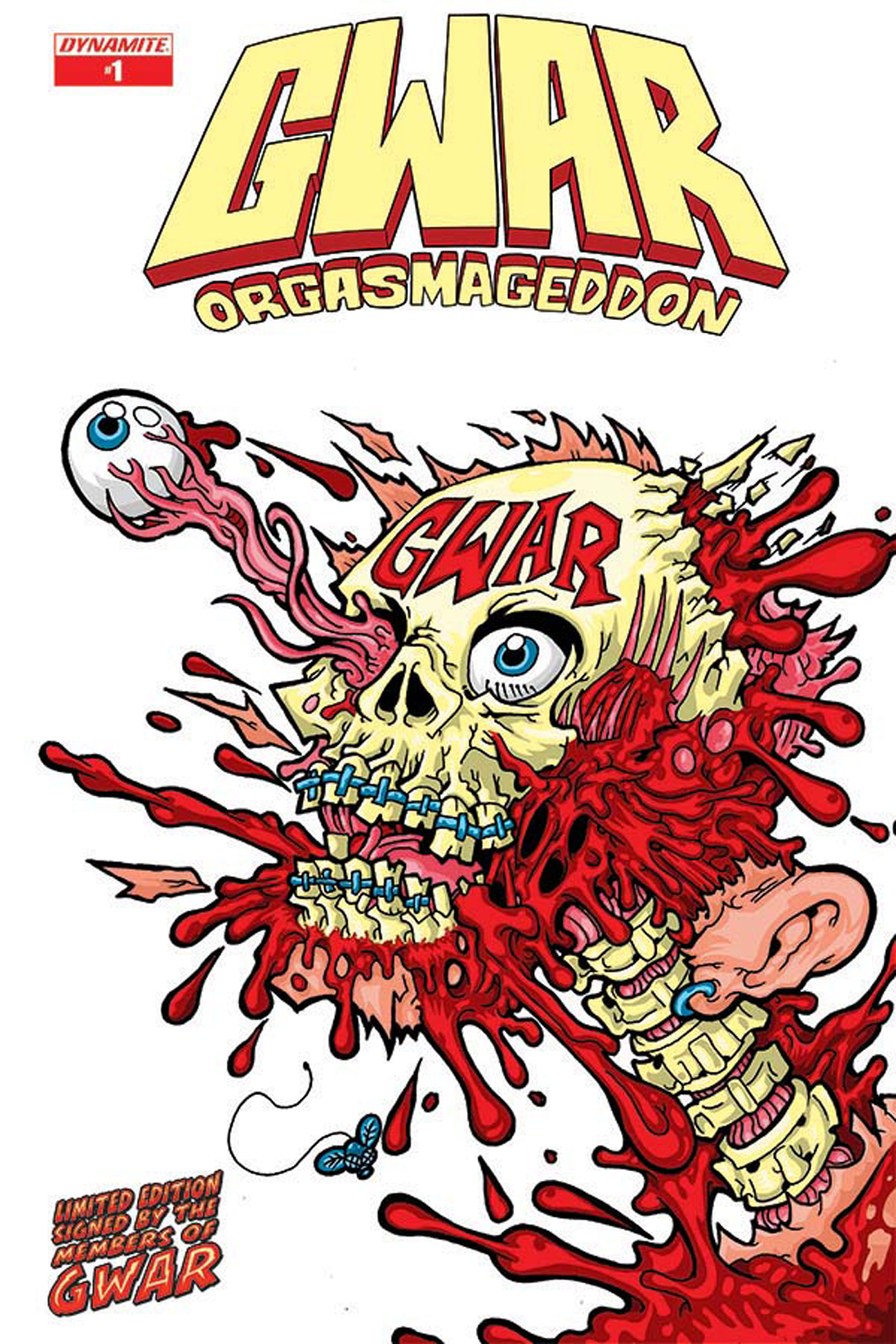 GWAR ORGASMAGEDDON #1 GROUP SGN ED (MR)
