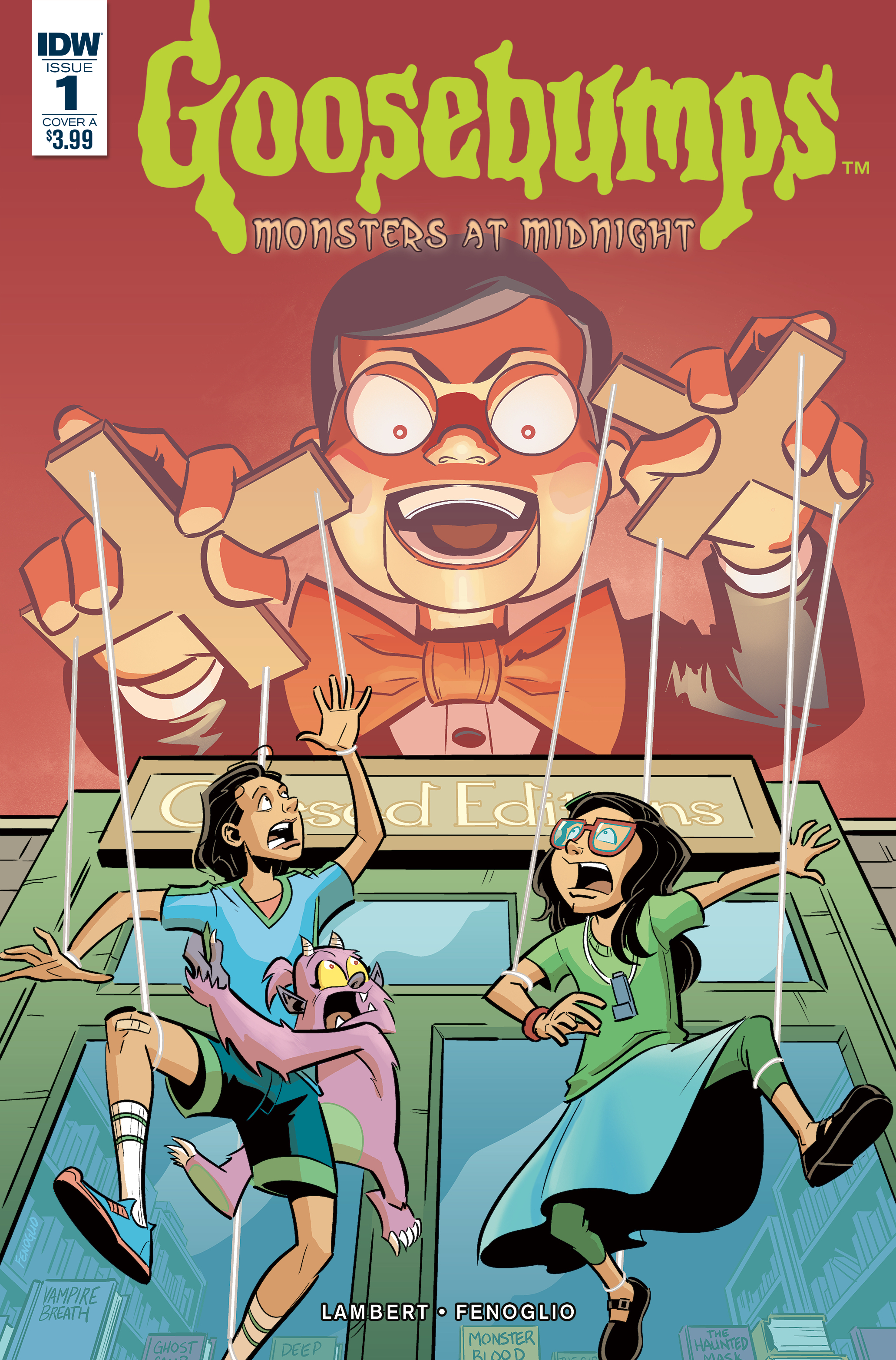 Aug170377 Goosebumps Monsters At Midnight 1 Of 3 Cvr A Fenoglio Previews World