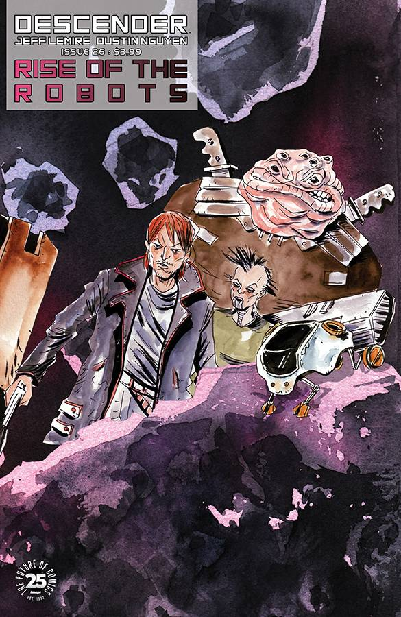 DESCENDER TP VOL 05 RISE OF THE ROBOTS (NOV170741)
