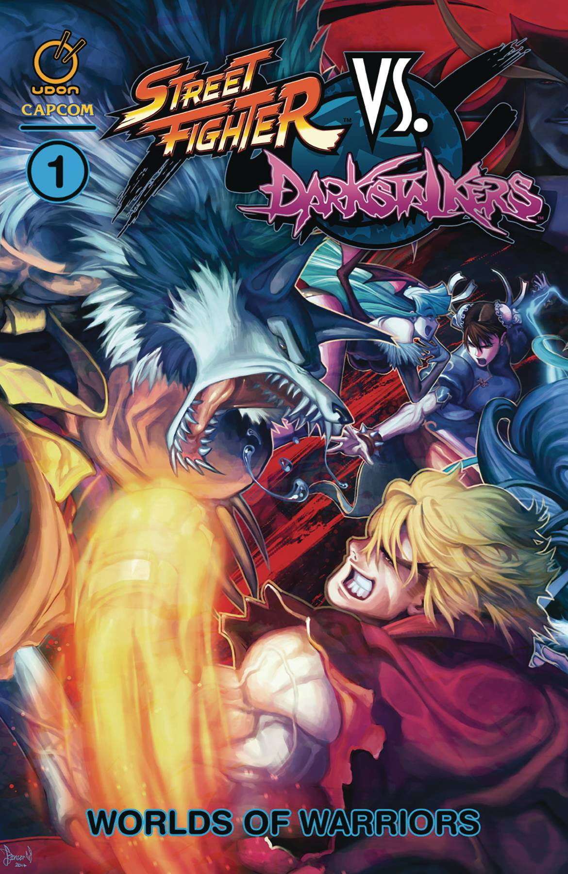 STREET FIGHTER VS DARKSTALKERS TP VOL 01