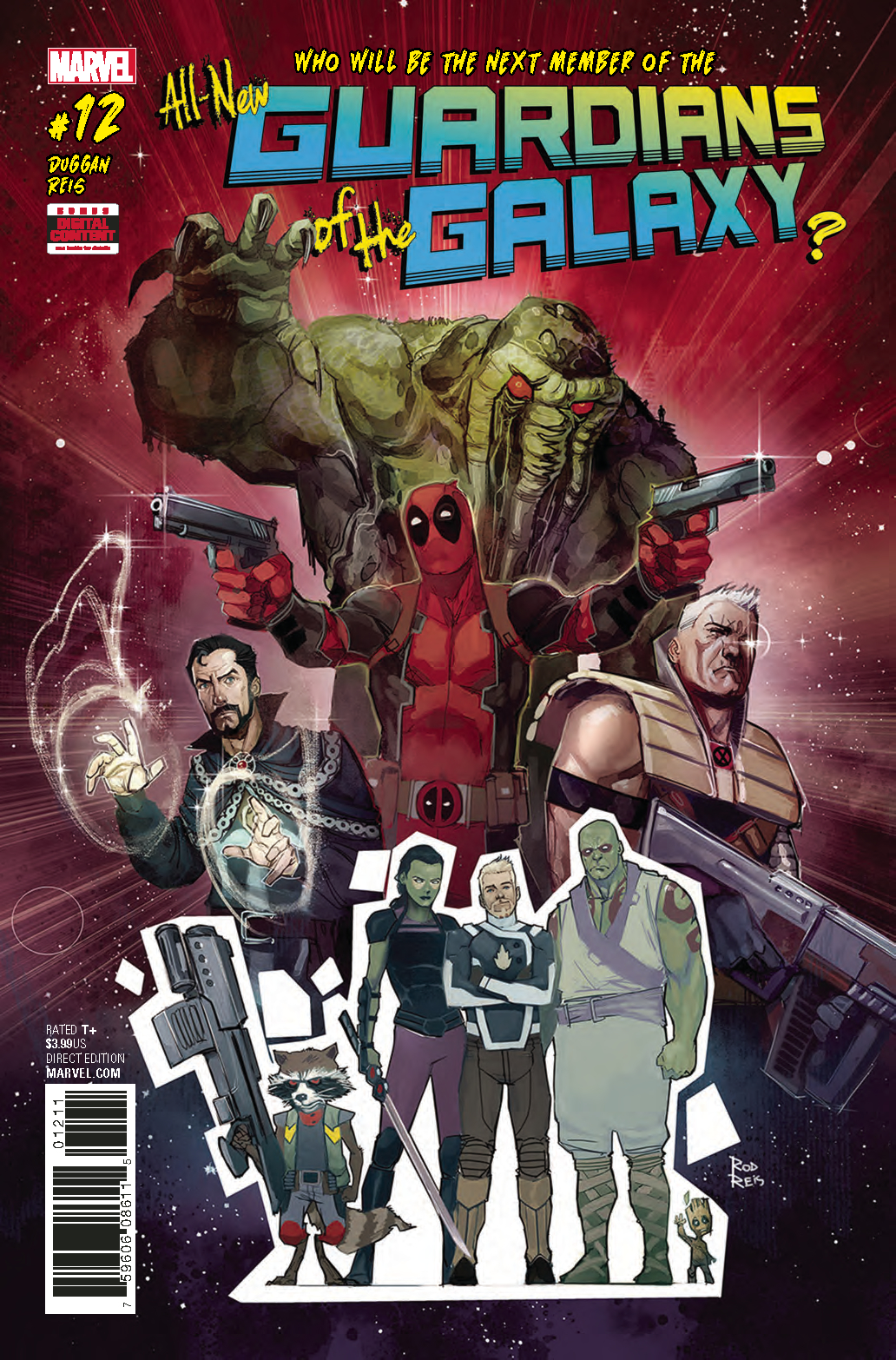 ALL NEW GUARDIANS OF GALAXY #12