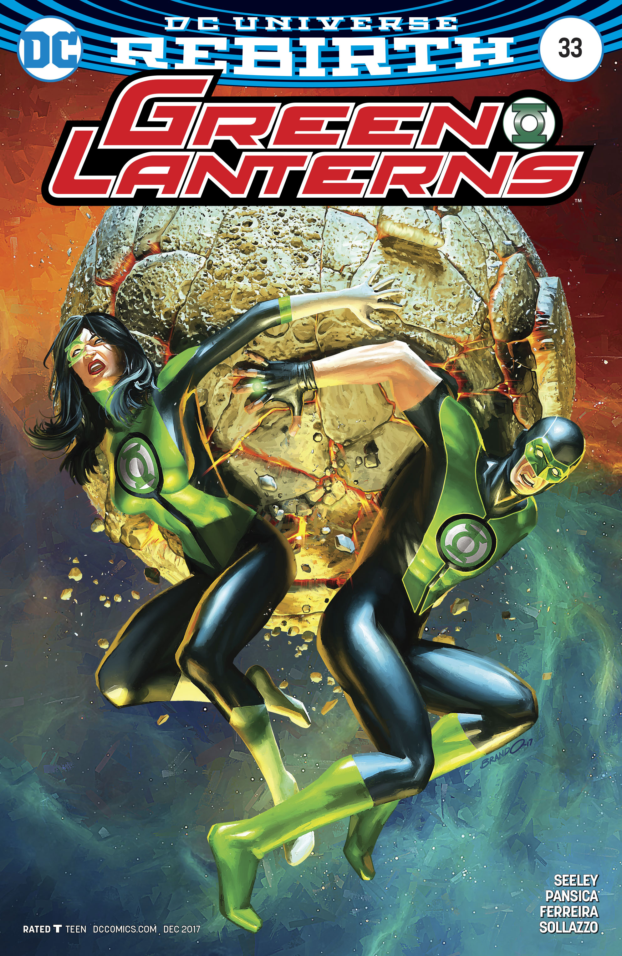 GREEN LANTERNS #33 VAR ED